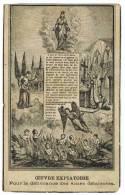 """IMAGE PIEUSE : """"Notre Dame De Montligeon Oeuvre Expiatoire Pour La Délivrance Aux Âmes Délaissées"""" - Images Religieuses"""