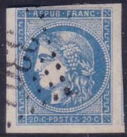 *SUPERBE* 20c Bordeaux Type II Report 3  TB (Y&T N° 45C , Cote +++€) - 1870 Bordeaux Printing