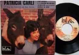 Patricia CARLI RARE EP 45T Vinyle C'est Difficile 1er Prix Du Festival San REMO - New Age