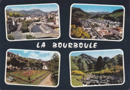 Cp , 63 , LA BOURBOULE , Vues Générales , Square Galliéni , Puy De Sancy , Multi-Vues - La Bourboule