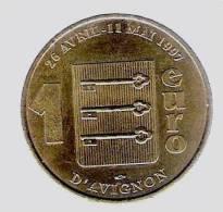 1 Euro Temporaire Precurseur D´ AVIGNON  1997,  RRRR, Gute Erhaltung, BR, Nr. 67 - Euro Der Städte