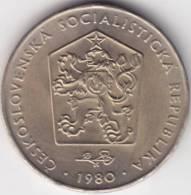 @Y@    Tsjechoslowakije  2 Koruny  1980   UNC  (C480) - Tchécoslovaquie