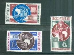 Dahomey ( Benin )  Yvert  PA N° 47/48/49** - Az5003 - Benin - Dahomey (1960-...)