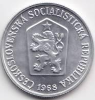 @Y@    Tsjechoslowakije  10 Haleru  1968   UNC  (C486) - Tchécoslovaquie