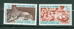 Bénin , Dahomey , Yvert N° 255/256 ** Neuf Sans Charnière   - Az5115 - Benin - Dahomey (1960-...)