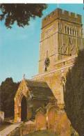 Northamptonshire Postcard - All Saint's Parish Church, Earls Barton, Northampton  8168 - Northamptonshire