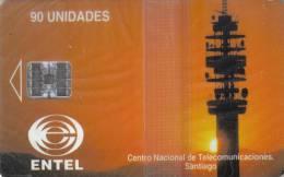 CHILE / CHI - EC 03 / First Chip Issue - Prémiere Emission à Puce - Chile