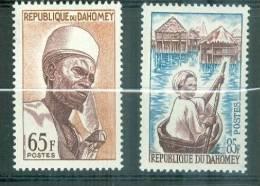 Bénin , Dahomey , Yvert N°189/190** Neuf Sans Charnière - Az5205 - Benin - Dahomey (1960-...)