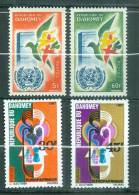 Bénin , Dahomey , Yvert N°168/169**  +  257/258**   Neuf Sans Charnière - Az5209 - Benin - Dahomey (1960-...)