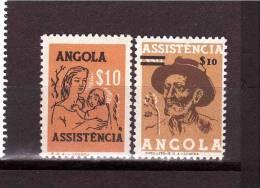 1980 ANGOLA  Assistencia  Yvert Cat N° 403-411 MNH ** - Angola