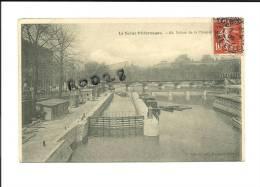 CPA 75 Paris - Ecluse De La Monnaie - La Seine Pittoresque N° 68 - Die Seine Und Ihre Ufer