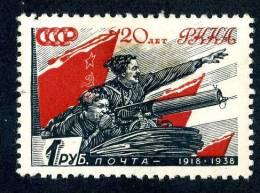 11211)  RUSSIA 1938  Mi.#594  (*) - Ongebruikt