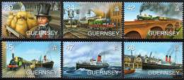 GUERNSEY 2006 Birth Bicentenary Of Isambard Kingdom Brunel - Guernesey