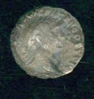 Denier Trajan,  Fourré Et Petit état - 3. Les Antonins (96 à 192)