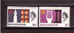 1966 BAHAMAS  Unesco Yvert Cat N° 238-240  MNH ** - UNESCO