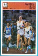STEVE OVETT - England British Athletics ( Yugoslavia Vintage Card Svijet Sporta ) Athlétisme Athletik Atletismo Atletica - Leichtathletik