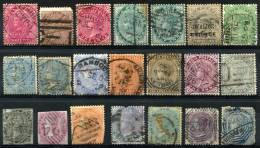 INDIA - Accum. Of Remaining Stamps (lower Condition) - 1882-1901 Imperium