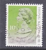 Hong Kong 490 D   (o)  Date 1991 - Hong Kong (...-1997)