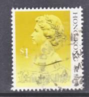 Hong Kong 497 D   (o)  Date 1991 - Hong Kong (...-1997)