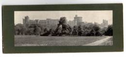 Panoramic Card  , 20.5 X 10 Cm , WINDSOR Castle From N.W. , Vierge , Frais Fr : 1.60€
