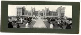 Panoramic Card  , 20.5 X 10 Cm , WINDSOR Castle , East Terrace. , Vierge , Frais Fr : 1.60€