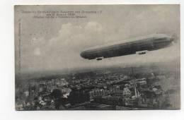 CPA Aviation  : Le Zeppelin à Strasbourg   1908   A     VOIR  !!!! - Airships