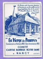 NANCY VANDOEUVRE  Chapelle  La Vierge Des Pauvres - Vandoeuvre Les Nancy