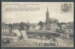 - CPA 02 - Etreux, Le Canal De Sambre-et-Oise - Vue Panoramique - Otros Municipios