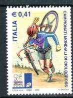 """ITALIA / ITALY 2003** - Campionati Mondiali Di Ciclocross - """" 1 Val. MNH Come Da Scansione - Cycling"""