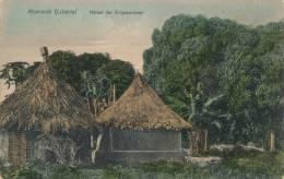 ( CPA AFRIQUE )  LIBÉRIA  /  MONROVIA  /  Hütten Der Eingeborenen  - - Liberia