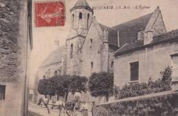 CPA 91 - MARCOUSSIS-  L´église . Animée - Montlhery