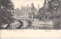 6101 - St.John's College And Bridge Cambridge - Cambridge