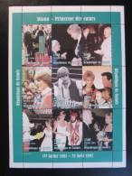 Tribute To Princess Diana (one Stamp With Roger Rabbit / Disney) - Guinea 1998 - Scott 1440 - **/MNH - Disney
