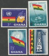 Ghana. 1959 United NationsTrusteeship Council. MH Complete Set - Ghana (1957-...)