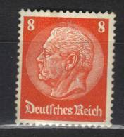 AP125 - GERMANIA IMPERO 1932 ,  8 Pf Arancio N. 446  ***  MNH - Germania