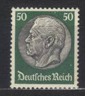AP126 - GERMANIA IMPERO 1932 ,  50 Pf Verde N. 456  ***  MNH - Germania