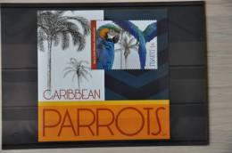 H 138 ++  2012 ST. KITTS ++ VOGEL BIRDS OISEAUX PARROT PAPEGAAI ++ MNH POSTFRIS ** - St.Kitts En Nevis ( 1983-...)