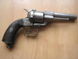 Revolver A Broche - Armes Neutralisées
