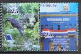 G 211 ++ PARAGUAY 2012 VOGELS PAPEGAAI BIRDS OISEAUX PARROT MNH ** - Paraguay