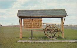 The Swift Current Rotary Club, Red River Cart At The Beginning Of The Battleford Trail,  Saskatchewan,  Canada,  40-60s - Saskatchewan