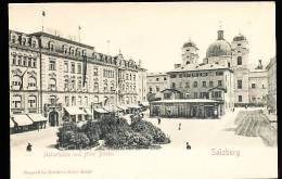 AUTRICHE SALZBURG / Markatplatz Und Hotel Bristol / - Austria