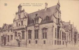 CPA  BELGIQUE -MALINES - Palais De Justice - Mechelen