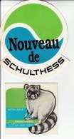 2 Autocollants / Adesivi / Aufkleber / Stickers - Schultess - Autocollants