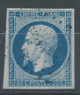 Lot N°21323   N°14A, Oblit PC, Belles Marges - 1853-1860 Napoleone III
