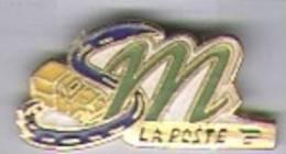 M La Poste, La Route Et Le Camion - Mail Services