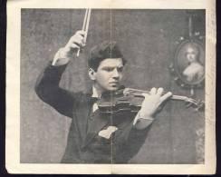 ZLATKO BALOKOVIC   World Famous Violine Player    2 AUTOGRAPHS     1921. - Autogramme & Autographen