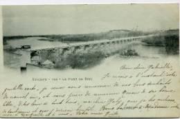 CPA 84 AVIGNON LE PONT DE BOIS  1901 - Avignon