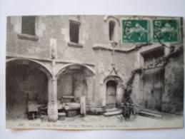37 TOURS- CPA - La Maison De Tristan L'Hermite - Les Arcades - Tours