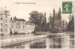 Dépt 16 - JARNAC - L'Écluse Et La Passerelle - Jarnac