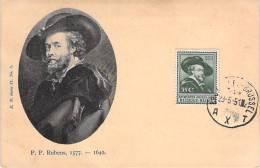 BELGIQUE CARTE MAXIMUM  NUM.YVERT 300 PEINTURE ART RUBENS - Maximum Cards